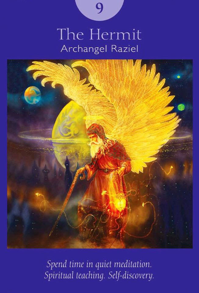angel tarot card for aries