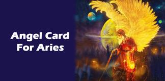 Angel Tarot Card for Aries