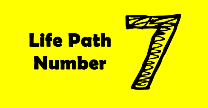 life path number 7