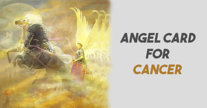 angel card for cancer