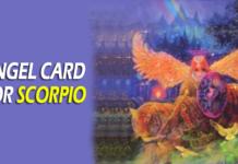 angel card for scorpio