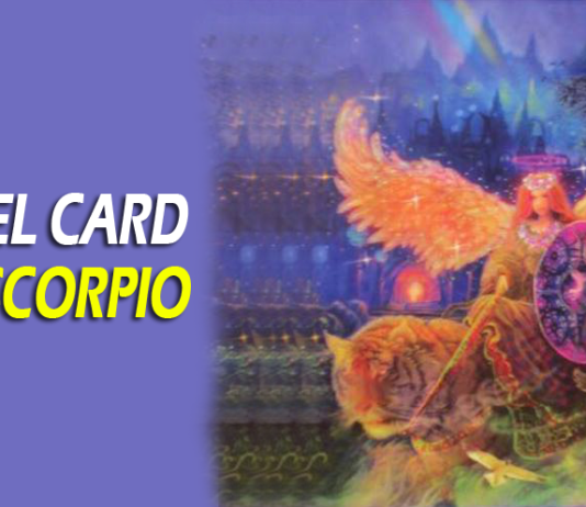 angel card for scorpio